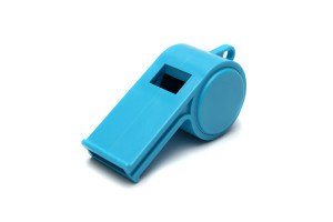 Whistle blue